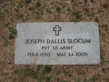 SLOCUM (VETERAN), JOSEPH DALLIS - Cross County, Arkansas   JOSEPH DALLIS SLOCUM (VETERAN) - Arkansas Gravestone Photos