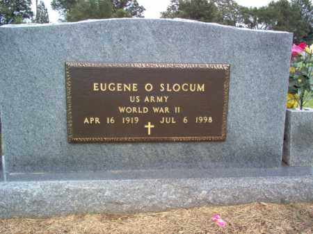 SLOCUM (VETERAN WWII), EUGENE O - Cross County, Arkansas | EUGENE O SLOCUM (VETERAN WWII) - Arkansas Gravestone Photos