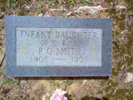 SMITH, INFANT DAUGHTER - Cross County, Arkansas | INFANT DAUGHTER SMITH - Arkansas Gravestone Photos