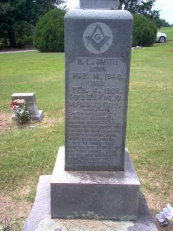 SMITH, R L - Cross County, Arkansas   R L SMITH - Arkansas Gravestone Photos