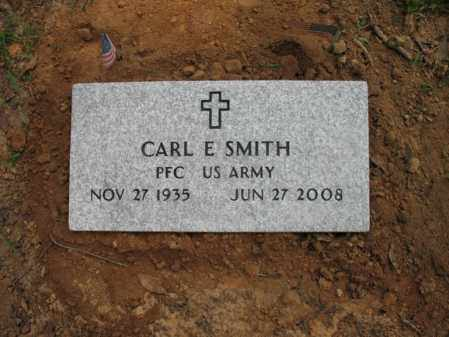 SMITH (VETERAN), CARL E - Cross County, Arkansas | CARL E SMITH (VETERAN) - Arkansas Gravestone Photos