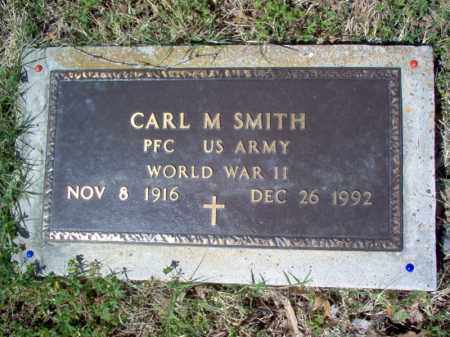 SMITH (VETERAN WWII), CARL M - Cross County, Arkansas | CARL M SMITH (VETERAN WWII) - Arkansas Gravestone Photos