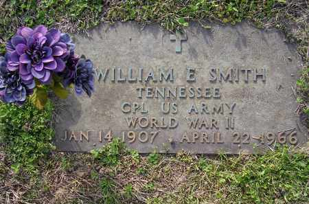 SMITH  (VETERAN WWII), WILLIAM E - Cross County, Arkansas | WILLIAM E SMITH  (VETERAN WWII) - Arkansas Gravestone Photos