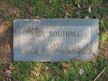 SOUTHALL, BABY - Cross County, Arkansas | BABY SOUTHALL - Arkansas Gravestone Photos