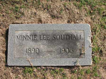 SOUTHALL, MINNIE LEE - Cross County, Arkansas | MINNIE LEE SOUTHALL - Arkansas Gravestone Photos