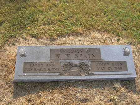 SPAIN, KATHY ANN - Cross County, Arkansas   KATHY ANN SPAIN - Arkansas Gravestone Photos