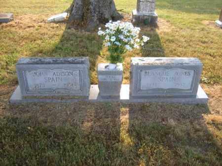 JONES SPAIN, BLANCHE - Cross County, Arkansas | BLANCHE JONES SPAIN - Arkansas Gravestone Photos