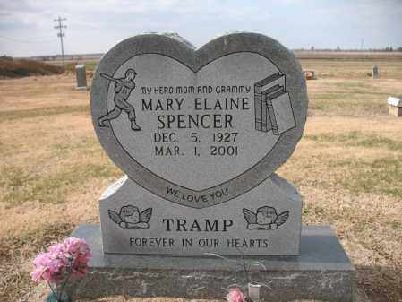 "SPENCER, MARY ELAINE ""TRAMP"" - Cross County, Arkansas 