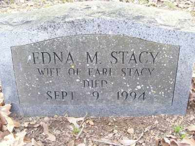 STACY, EDNA - Cross County, Arkansas   EDNA STACY - Arkansas Gravestone Photos