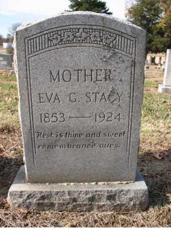 STACY, EVA GILLETTE - Cross County, Arkansas | EVA GILLETTE STACY - Arkansas Gravestone Photos