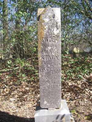 STACY, JEWEL I. - Cross County, Arkansas | JEWEL I. STACY - Arkansas Gravestone Photos