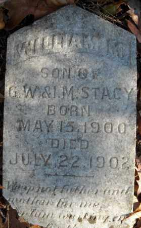 STACY (ORIGINAL STONE), WILLIAM M. - Cross County, Arkansas | WILLIAM M. STACY (ORIGINAL STONE) - Arkansas Gravestone Photos
