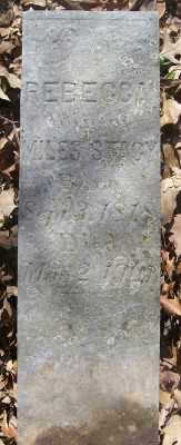 DUKE STACY, REBECCA - Cross County, Arkansas | REBECCA DUKE STACY - Arkansas Gravestone Photos