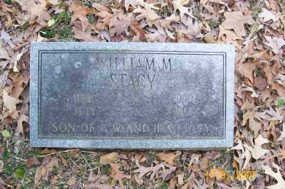 STACY, WILLIAM M. - Cross County, Arkansas | WILLIAM M. STACY - Arkansas Gravestone Photos
