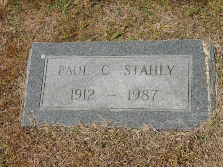 STAHLY, PAUL C - Cross County, Arkansas | PAUL C STAHLY - Arkansas Gravestone Photos