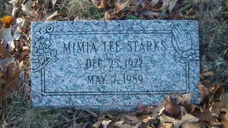 STARKS, MIMIA - Cross County, Arkansas | MIMIA STARKS - Arkansas Gravestone Photos