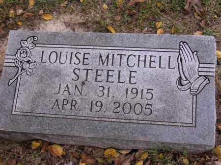 MITCHELL STEELE, LOUISE - Cross County, Arkansas | LOUISE MITCHELL STEELE - Arkansas Gravestone Photos