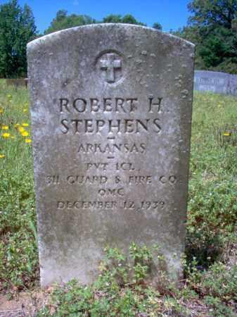 STEPHENS  (VETERAN), ROBERT H. - Cross County, Arkansas   ROBERT H. STEPHENS  (VETERAN) - Arkansas Gravestone Photos