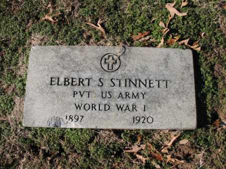 STINNETT (VETERAN WWI), ELBERT S - Cross County, Arkansas   ELBERT S STINNETT (VETERAN WWI) - Arkansas Gravestone Photos