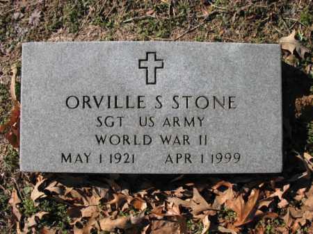 STONE (VETERAN WWII), ORVILLE S - Cross County, Arkansas | ORVILLE S STONE (VETERAN WWII) - Arkansas Gravestone Photos
