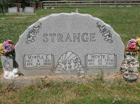 STRANGE, MYRTLE E - Cross County, Arkansas   MYRTLE E STRANGE - Arkansas Gravestone Photos