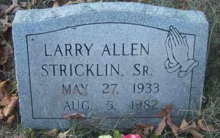 STRICKLIN, SR, LARRY ALLEN - Cross County, Arkansas | LARRY ALLEN STRICKLIN, SR - Arkansas Gravestone Photos
