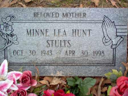 HUNT STULTS, MINNIE LEA - Cross County, Arkansas | MINNIE LEA HUNT STULTS - Arkansas Gravestone Photos