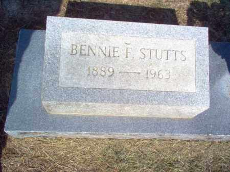 STUTTS  (2), BENNIE F. - Cross County, Arkansas | BENNIE F. STUTTS  (2) - Arkansas Gravestone Photos