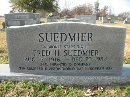 SUEDMIER, FRED H - Cross County, Arkansas   FRED H SUEDMIER - Arkansas Gravestone Photos
