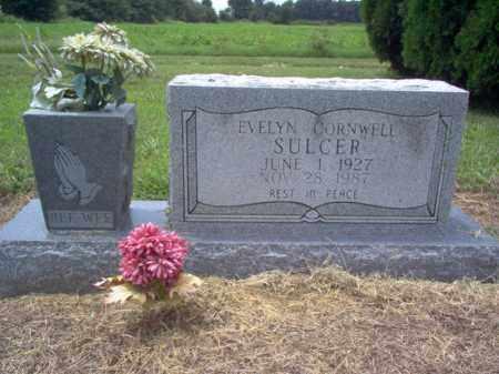 CORNWELL SULCER, EVELYN - Cross County, Arkansas   EVELYN CORNWELL SULCER - Arkansas Gravestone Photos