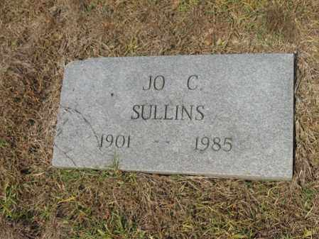 SULLINS, JO C - Cross County, Arkansas | JO C SULLINS - Arkansas Gravestone Photos