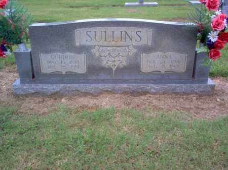 SULLINS, GORDON - Cross County, Arkansas | GORDON SULLINS - Arkansas Gravestone Photos