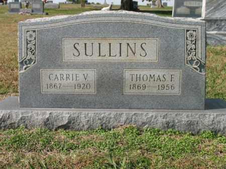 SULLINS, CARRIE V - Cross County, Arkansas | CARRIE V SULLINS - Arkansas Gravestone Photos