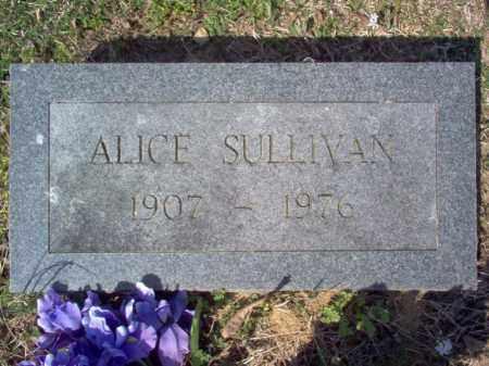 SULLIVAN, ALICE - Cross County, Arkansas | ALICE SULLIVAN - Arkansas Gravestone Photos