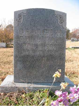 SULLIVAN, GEORGE H - Cross County, Arkansas   GEORGE H SULLIVAN - Arkansas Gravestone Photos