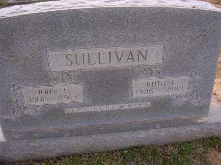 SULLIVAN, JOHN L - Cross County, Arkansas | JOHN L SULLIVAN - Arkansas Gravestone Photos