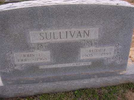 SULLIVAN, RUTH E - Cross County, Arkansas | RUTH E SULLIVAN - Arkansas Gravestone Photos