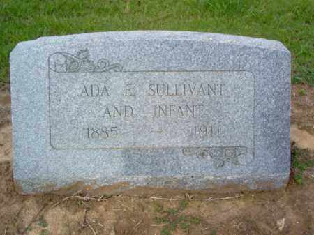 SULLIVANT, ADA E - Cross County, Arkansas | ADA E SULLIVANT - Arkansas Gravestone Photos