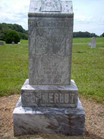 SUMMERLOT, BELLE - Cross County, Arkansas | BELLE SUMMERLOT - Arkansas Gravestone Photos