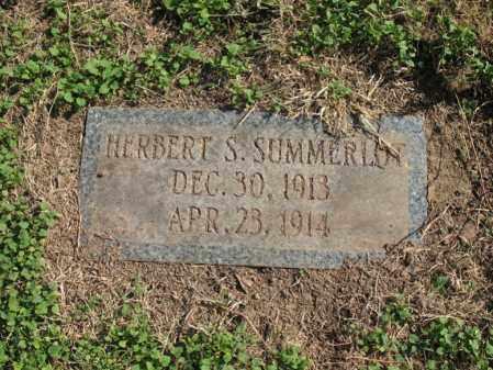 SUMMERLOT, HERBERT S - Cross County, Arkansas | HERBERT S SUMMERLOT - Arkansas Gravestone Photos