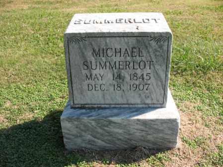 SUMMERLOT, MICHAEL - Cross County, Arkansas | MICHAEL SUMMERLOT - Arkansas Gravestone Photos