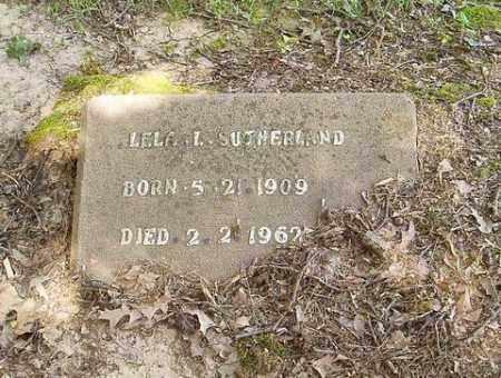 SUTHERLAND, LELA L. - Cross County, Arkansas   LELA L. SUTHERLAND - Arkansas Gravestone Photos