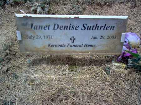 SUTHRLEN, JANET DENISE - Cross County, Arkansas | JANET DENISE SUTHRLEN - Arkansas Gravestone Photos