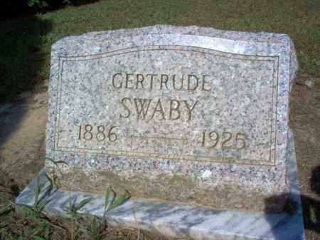 SWABY, GERTRUDE - Cross County, Arkansas | GERTRUDE SWABY - Arkansas Gravestone Photos