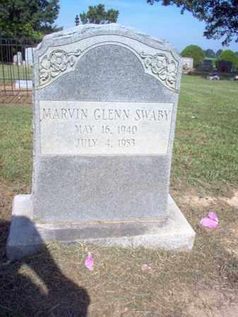 SWABY, MARVIN GLENN - Cross County, Arkansas   MARVIN GLENN SWABY - Arkansas Gravestone Photos