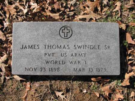 SWINDLE, SR (VETERAN WWI), JAMES THOMAS - Cross County, Arkansas | JAMES THOMAS SWINDLE, SR (VETERAN WWI) - Arkansas Gravestone Photos