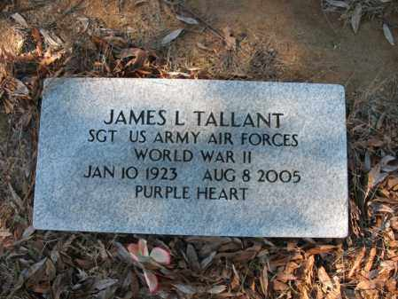 TALLANT (VETERAN WWII), JAMES L - Cross County, Arkansas | JAMES L TALLANT (VETERAN WWII) - Arkansas Gravestone Photos