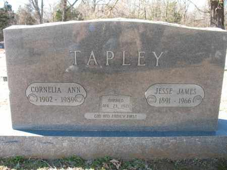 TAPLEY, CORNELIA ANN - Cross County, Arkansas | CORNELIA ANN TAPLEY - Arkansas Gravestone Photos