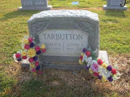 TARBUTTON, CHARLIE B - Cross County, Arkansas   CHARLIE B TARBUTTON - Arkansas Gravestone Photos