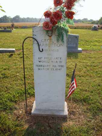 TARBUTTON (VETERAN WWII), CECIL B - Cross County, Arkansas | CECIL B TARBUTTON (VETERAN WWII) - Arkansas Gravestone Photos